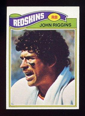 1977 Topps Football #055 John Riggins - Washington Redskins