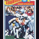 1977 Topps Football #045 Roger Staubach - Dallas Cowboys NM-M