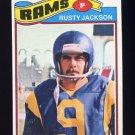 1977 Topps Football #042 Rusty Jackson - Los Angeles Rams