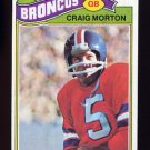 1977 Topps Football #027 Craig Morton - Denver Broncos