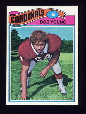 1977 Topps Football #019 Bob Young - St. Louis Cardinals