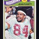 1977 Topps Football #012 Jean Fugett - Washington Redskins