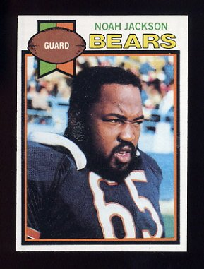 1979 Topps Football #523 Noah Jackson - Chicago Bears
