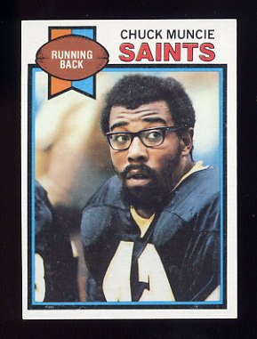 1979 Topps Football #503 Chuck Muncie - New Orleans Saints