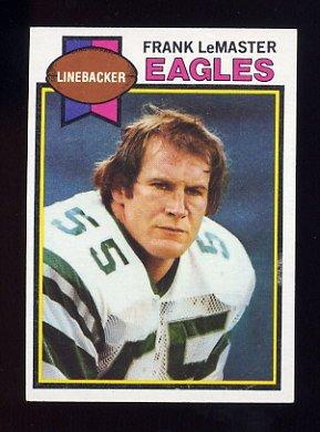 1979 Topps Football #496 Frank LeMaster - Philadelphia Eagles