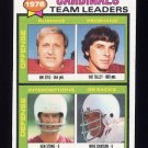 1979 Topps Football #488 St. Louis Cardinals TL / Jim Otis / Pat Tilley G