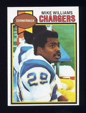 1979 Topps Football #459 Mike Williams - San Diego Chargers