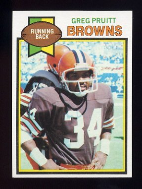 1979 Topps Football #455 Greg Pruitt - Cleveland Browns