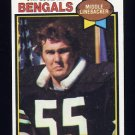1979 Topps Football #454 Jim LeClair - Cincinnati Bengals NM-M