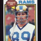 1979 Topps Football #453 Fred Dryer - Los Angeles Rams