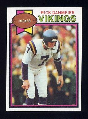 1979 Topps Football #446 Rick Danmeier - Minnesota Vikings