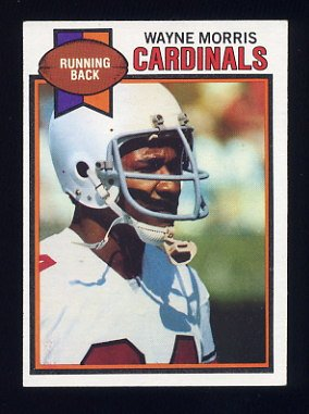 1979 Topps Football #444 Wayne Morris - St. Louis Cardinals