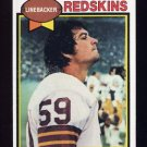 1979 Topps Football #436 Brad Dusek - Washington Redskins