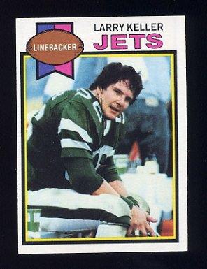 1979 Topps Football #422 Larry Keller - New York Jets