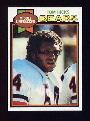 1979 Topps Football #417 Tom Hicks - Chicago Bears