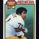 1979 Topps Football #416 Diron Talbert - Washington Redskins