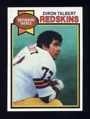 1979 Topps Football #416 Diron Talbert - Washington Redskins