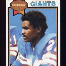 1979 Topps Football #412 Ray Rhodes - New York Giants