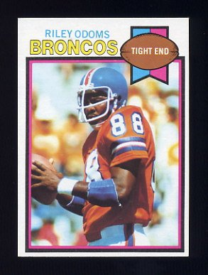 1979 Topps Football #405 Riley Odoms - Denver Broncos