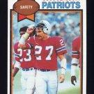 1979 Topps Football #401 Doug Beaudoin - New England Patriots