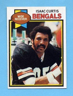 1979 Topps Football #395 Isaac Curtis - Cincinnati Bengals
