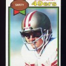 1979 Topps Football #388 Chuck Crist - San Francisco 49ers