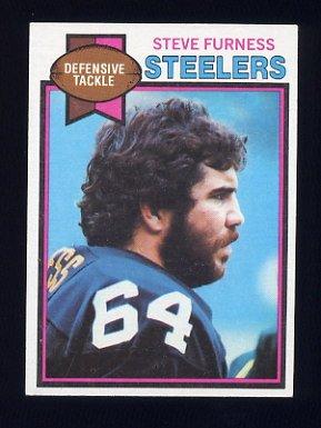 1979 Topps Football #371 Steve Furness - Pittsburgh Steelers