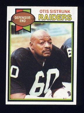 1979 Topps Football #365 Otis Sistrunk - Oakland Raiders