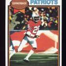 1979 Topps Football #361 Raymond Clayborn - New England Patriots