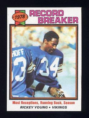 1979 Topps Football #336 Rickey Young RB - Minnesota Vikings