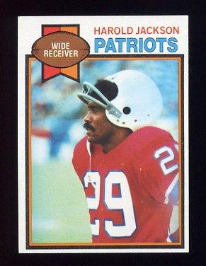 1979 Topps Football #321 Harold Jackson - New England Patriots