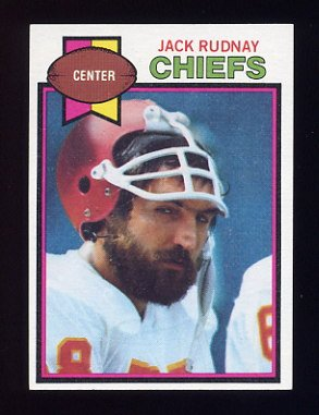 1979 Topps Football #304 Jack Rudnay - Kansas City Chiefs