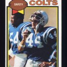 1979 Topps Football #299 Lyle Blackwood - Baltimore Colts