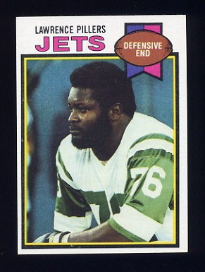 1979 Topps Football #287 Lawrence Pillers - New York Jets