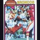 1979 Topps Football #285 Craig Morton - Denver Broncos