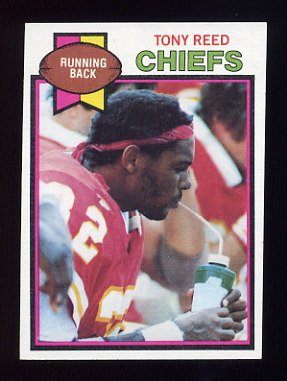 1979 Topps Football #278 Tony Reed - Kansas City Chiefs NM-M