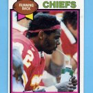 1979 Topps Football #278 Tony Reed - Kansas City Chiefs ExMt