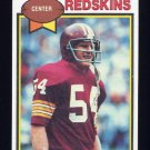 1979 Topps Football #276 Bob Kuziel - Washington Redskins
