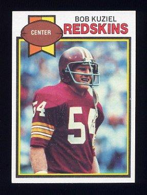 1979 Topps Football #276 Bob Kuziel - Washington Redskins