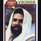 1979 Topps Football #274 Jim Marshall - Minnesota Vikings