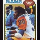 1979 Topps Football #265 Lawrence McCutcheon - Los Angeles Rams NM-M