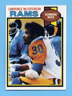 1979 Topps Football #265 Lawrence McCutcheon - Los Angeles Rams ExMt