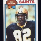 1979 Topps Football #257 Ike Harris - New Orleans Saints