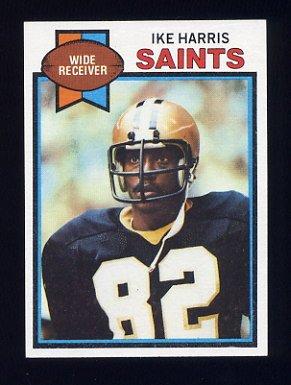 1979 Topps Football #257 Ike Harris - New Orleans Saints