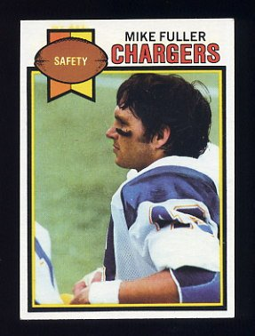 1979 Topps Football #254 Mike Fuller - San Diego Chargers
