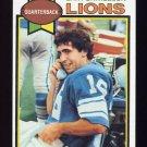 1979 Topps Football #253 Gary Danielson RC - Detroit Lions