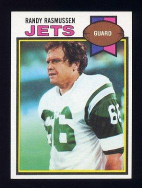 1979 Topps Football #247 Randy Rasmussen - New York Jets