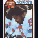 1979 Topps Football #242 Julius Adams - New England Patriots