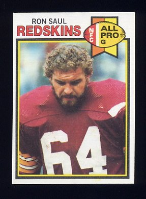 1979 Topps Football #236 Ron Saul - Washington Redskins