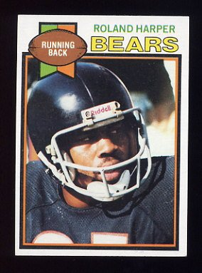 1979 Topps Football #227 Roland Harper - Chicago Bears